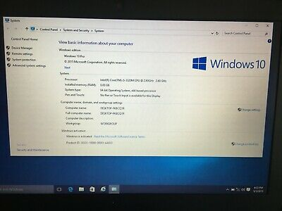 Dell Latitude E6330 Intel Core i5-3320M 2.6GHz 8GB RAM 320GB HDD - Win 10