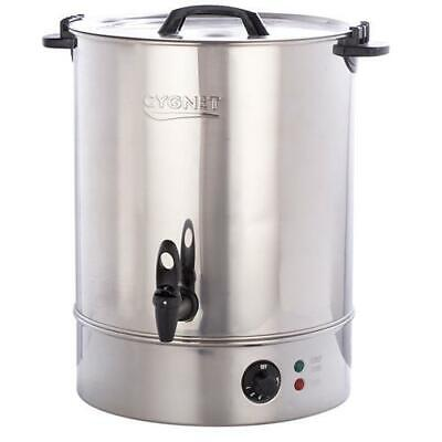 Burco Boiler Cygnet CATERING Large 30L Litre Hot Water Tea Urn - Stainless Steel