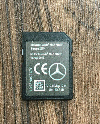 Mercedes-Benz Garmin® MAP PILOT V12 EUROPE 2019-2020 NAVI SD CARD A2139062607
