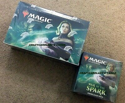 Magic War Of The Spark Booster Box & Prerelease Kit Same Day Priority Shipping