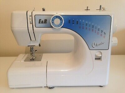 Electric Classic Sewing Machine E&R SC 12 With Speed Pedal And Leads