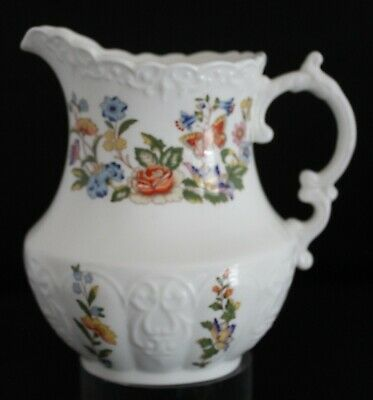 Aynsley Cottage Garden 20 Oz. Pitcher Bone China Made In England MInt Condition