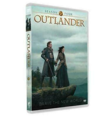 Outlander Season 4 DVD 2019 3 Disc Brand New & Sealed Free Post Complete Box Set