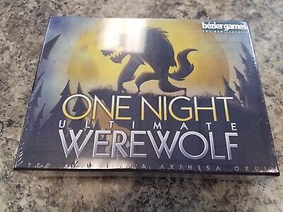 One Night Ultimate Werewolf - Bezier Games Board Game New!