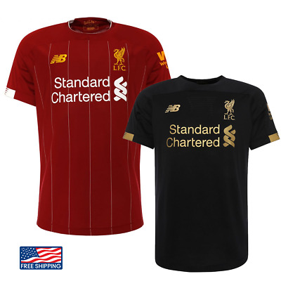Champions League Final LIVERPOOL NEW JERSEY 2020 Red Black Home Mo Salah Firmino