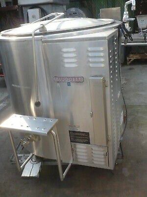 Steam Kettle 80 Gallon  Self Contained Gas