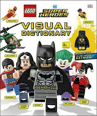 LEGO DC Super Heroes Visual Dictionary: With Exclusive Yellow Lantern Batman Min