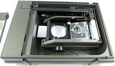 OverHead Projector 3m Model 2000 Carry Case Portable Spare Bulb Fold Away USED