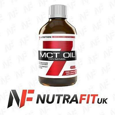7NUTRITION MCT OIL 100% pure fatty acids diet weight fat loss energy 400ml