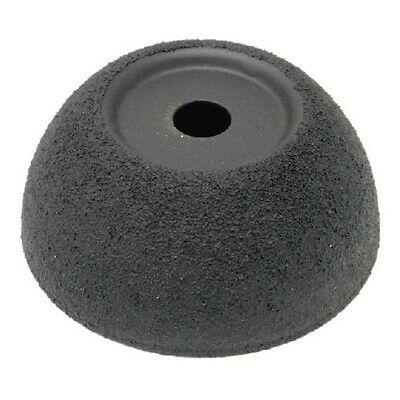 """Flared Contour Wheel 2-1/2"""" x 1"""" 3/8"""" AH 60 grit The Main Resource 332015-60"""