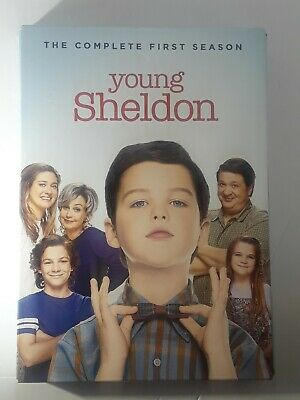 Young Sheldon: The Complete First Season (DVD, 2018, 2-Disc Set) TV Show Sealed