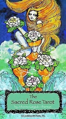 The Sacred Rose Tarot Deck, Tarotkarten | Buch | Zustand gut
