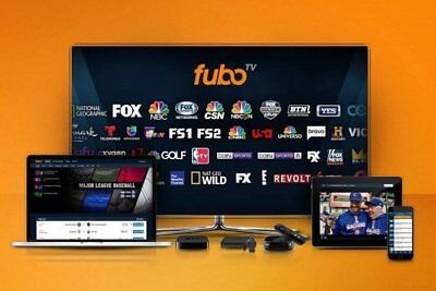 Fubo TV Account - Live Sport & TV | 12 Months Warranty | 100+ Channels