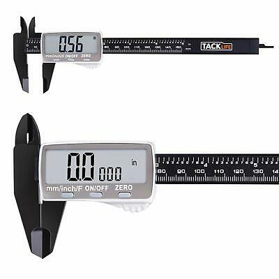 Digital Caliper 6 Inch with Larger LCD Display, Inch/Fractions/Millimeter Conver