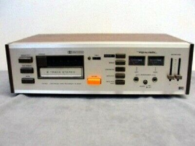 VTG 1970s Realistic TR-802 Dolby 8 Track Player Recording Deck Tested Works