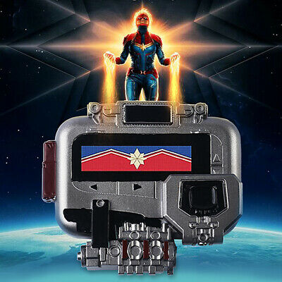 Avengers 4 Endgame Captain Marvel Cosplay Pager PVC Beeper Props Collection Gift