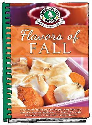Flavors of Fall by Gooseberry Patch Hardcover Book Free Shipping!