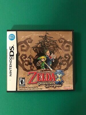 The Legend of Zelda: Phantom Hourglass (Nintendo DS, 2007) Not For Resale