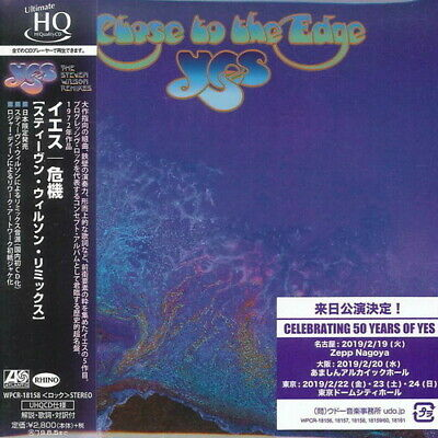 Yes - Close To The Edge (Steven Wilson Remix) [New CD] Japanese Mini-Lp Sleeve,