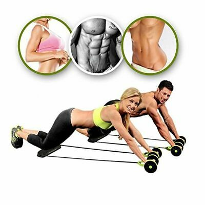 Power Roll Ab Trainer Abdominal and Full Body Workout Trainer Wheel Stretching