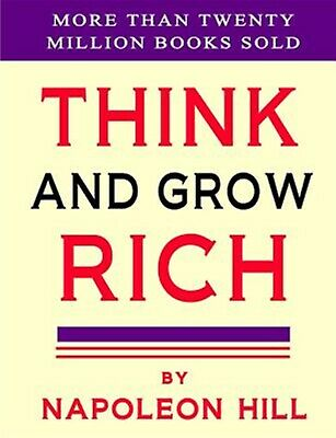 Think and Grow Rich by Hill, Napoleon 9781897384381 -Paperback