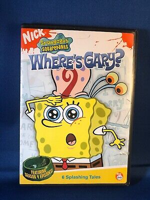 SPONGEBOB SQUAREPANTS Season 4 Episodes Wheres Gary? Nickelodeon DVD