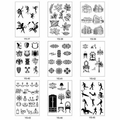 Silicone Clear Stamp Cling Seal DIY Scrapbook Embossing Photo Album Decor Craft