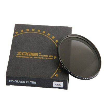 ZOMEI Glass Slim ND2-400 Neutral Density Fader Variable ND filter Adjustable