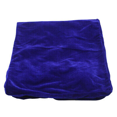 Blue Elegant Velvet Piano and Stool Cover Set for Piano Bench With Dual Seat