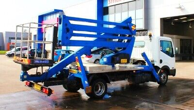 Nissan Cabstar 19M Cherry Picker 2009