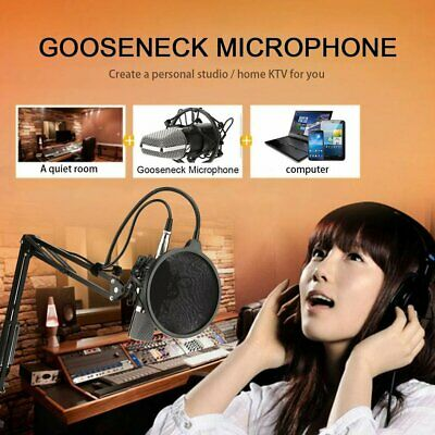 NW-700 Professional Studio Broadcasting Recording Condenser Microphone Kit HG