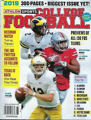 Athlon's College Football Preview 2019  BIG TEN