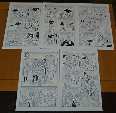 Archie And Friends Stan Goldberg 5 Page Full Story Original American Comic Art