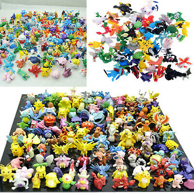 24-144pcs Pokemon Monster Pokémon Detective Pikachu Mini 2-3cm Action Figures