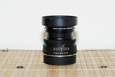 Leica Leitz Summicron R 50Mm F2 1 Cam Red Scale Prime Lens *Excellent Condition*
