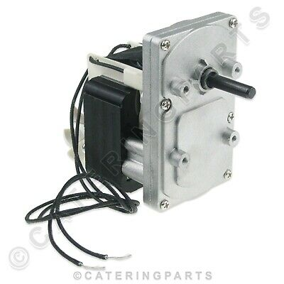 DRIVE MOTOR & GEARBOX 240v BURCO COMMERCIAL ROTARY CONVEYOR BELT TYPE TOASTER