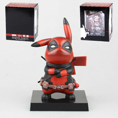 A Day With Pikachu Funko Cool Deadpool pokemon Pop Culture Figure One Lucky Day