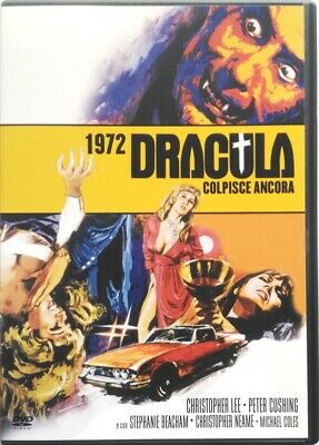 DVD 1972 - Dracula Strikes Back with Christopher Lee Used