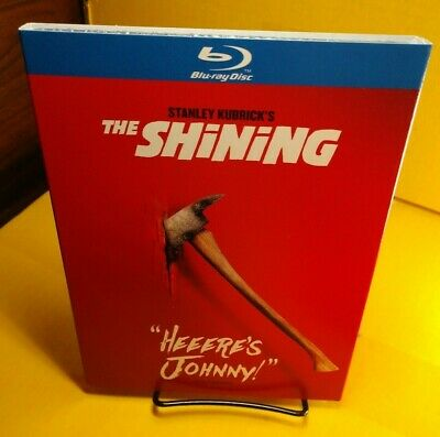 The Shining (Blu-ray) Movie Quote Collector Slipcover-NEW-Free S&H with Trackin