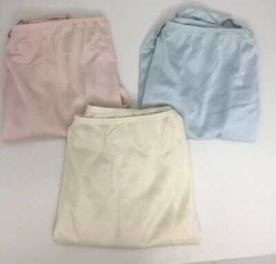 af072e1f41b4 SEARS WOMEN 8 Hips 41-42 brief underwear (Lot of 3 pair) pink blue ...