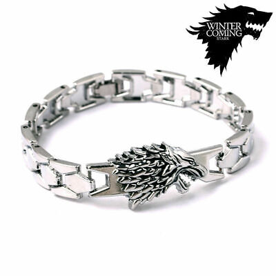 New Game of Thrones Stark Wolf Stark Bracelet Bangles Song Ice Fire Collection !