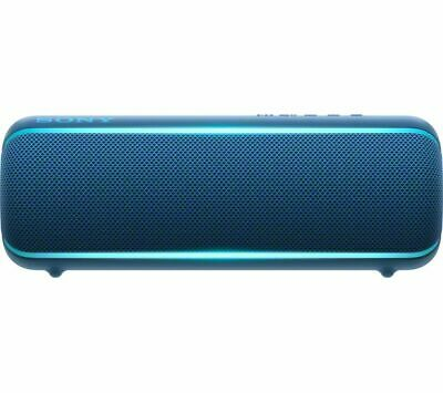 SONY EXTRA BASS SRS-XB22 Portable Bluetooth Speaker - Blue - Currys