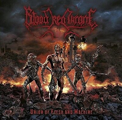 Blood Red Throne - Union Of Flesh And Machine [New CD]