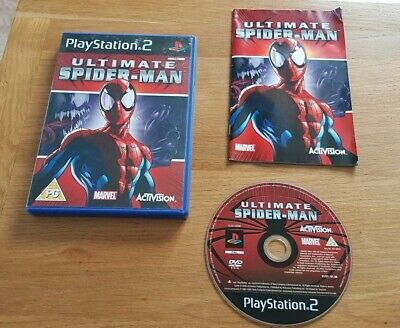 Ultimate Spider Man  Spiderman game Sony PS2 Playstation 2 UK  Pal