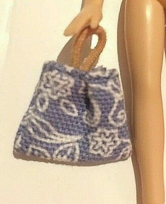 Genuine ** Lil Bratz BLUE HANDBAG BEACHBAG  Doll Little