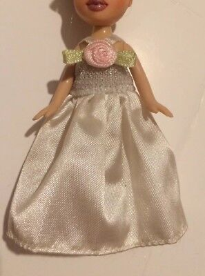 Genuine ** Lil Bratz Prom Dress Wedding Dress Doll