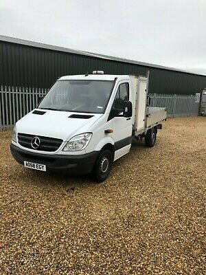 Mercedes Sprinter MWB, 313 CDI Dropside, 1 local owner from new, tidy truck.