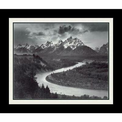 The Tetons and the Snake River, Grand Teton National Park, Wyoming, 1942 by
