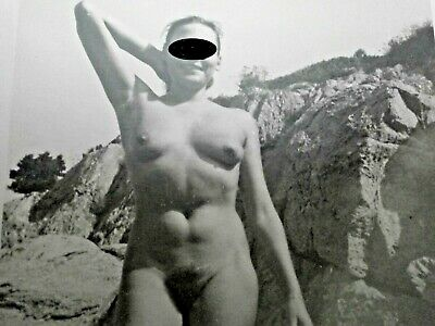 FRENCH? REAL PHOTO NUDE MODEL vera fotografia nudo donna naturalista anni 50/60?