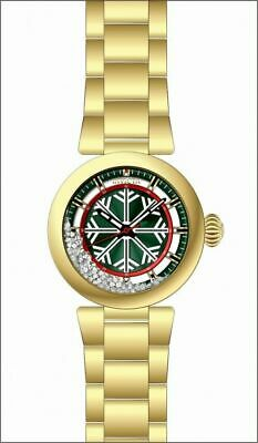 28696 Invicta Specialty Winter Crystal Green Dial Men's Watch